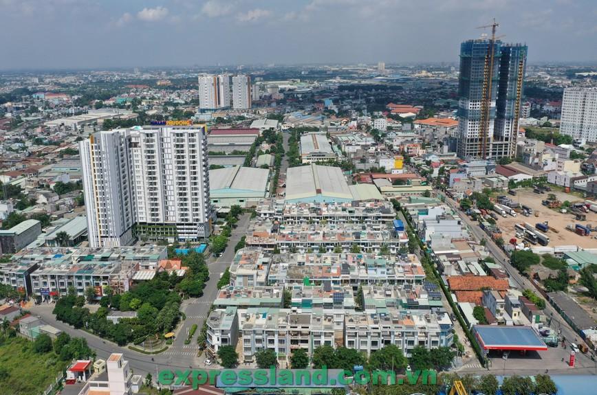 Một số khu căn hộ hiện hữu ở TP.HCM có mức bán chênh vài trăm triệu