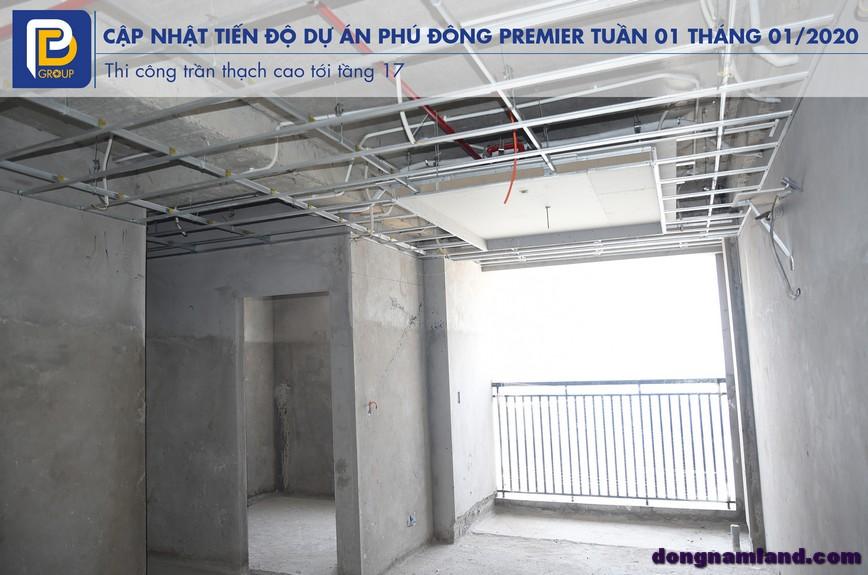 Toàn cảnh tiến độ căn hộ Phú Đông Premier